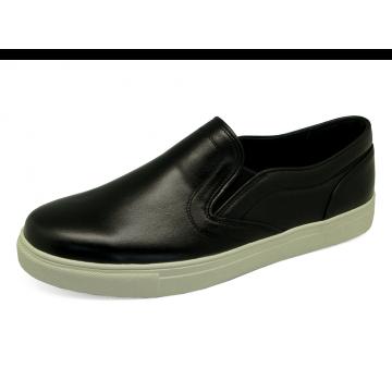 รองเท้าคัทชู MV-10 หนังนิ่มดำ