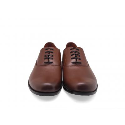 รองเท้าคัทชู MV-11 หนังนิ่มตาลอ่อน