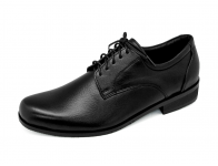 รองเท้าคัทชู MV-12 หนังนิ่มดำ