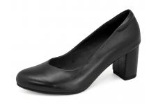 รองเท้าคัทชู SC-67 หนังนิ่มดำ