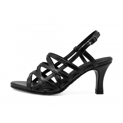 รองเท้าแตะ SC-69 หนังนิ่มดำ