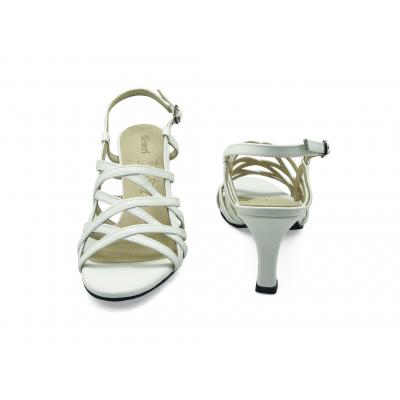 รองเท้าแตะ SC-69 หนังนิ่มขาว