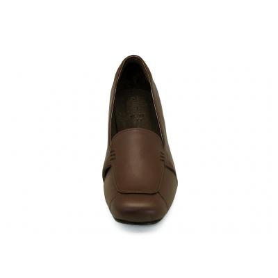 รองเท้าคัทชู SC-71 หนังนิ่มตาล