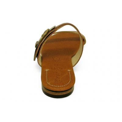 รองเท้าแตะส้นเตี้ย SC-73 นิ่มเบจอ่อน-นิ่มแทน