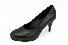 รองเท้าคัทชูส้นสูง SC-75 หนังนิ่มดำ