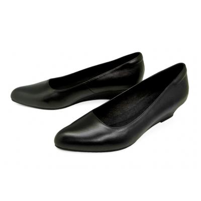 รองเท้าคัทชู SC-76 หนังนิ่มดำ