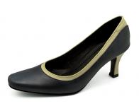 ลด 50% รองเท้าคัทชู SJ-51 หนังAntiqueกรมท่า-นิ่มครีมอ่อน