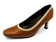 ลด 50% รองเท้าคัทชู SJ-51 หนังAntiqueแทน-นิ่มครีมอ่อน