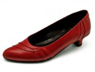 ลด 50% รองเท้าคัทชู SJ-56 หนังนิ่มแดง
