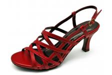 Women Sandals SJ-57 Red Nappa