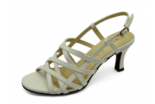 Women Sandals SJ-57 White Nappa