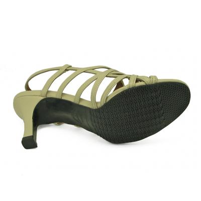 รองเท้าแตะ SJ-57 หนังนิ่มครีมอ่อน