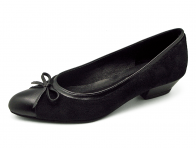 ลด 50% รองเท้าคัทชู SJ-59 หนังนิ่มดำ-กลับดำ