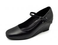 ลด 50% รองเท้าคัทชู SJ-62 หนังนิ่มดำ