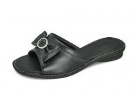 ลด 50% รองเท้าแตะ SJ-67 หนังนิ่มดำ