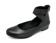 ลด 50% รองเท้าคัทชูส้นเตี้ย SJ-73 หนังนิ่มดำ