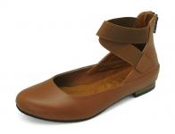 รองเท้าคัทชูส้นเตี้ย SJ-73 หนังANTIQUEแทน