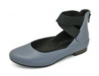SALE 50% รองเท้าคัทชูส้นเตี้ย SJ-73 หนังนิ่มม่วง