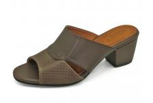 รองเท้าแตะ SJ-80 หนังAตาลอัดลายมุ้ง-นิ่มตาลขัดเงา