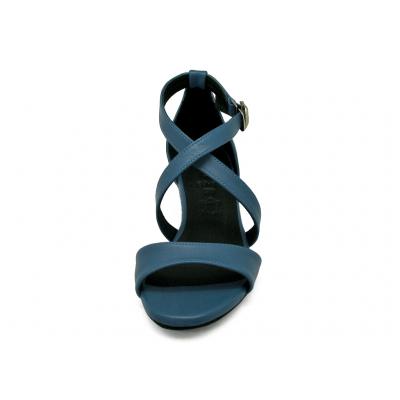 รองเท้าแตะ SJ-81 หนังนิ่มน้ำเงิน