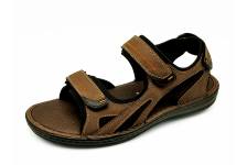 Men Sandals SKA-19 Brown Nubuck (Oiled)