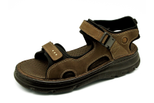 Men Sandals SKA-22 Brown Nubuck (Oiled)