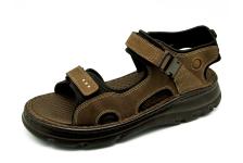 Men Sandals SKA-22 Brown Nubuck (Oiled)