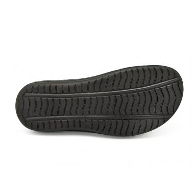รองเท้าแตะ SKA-25 หนังนูบักออยล์ดำ-นูบักออยล์ตาล-ตาข่ายตาล
