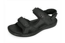 รองเท้าแตะ SKA-26 หนังนูบักออยล์ดำ