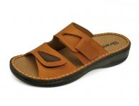 ลด 50% รองเท้าแตะ SKA-28 หนังนูบักแทน-นูบักออยล์ตาล