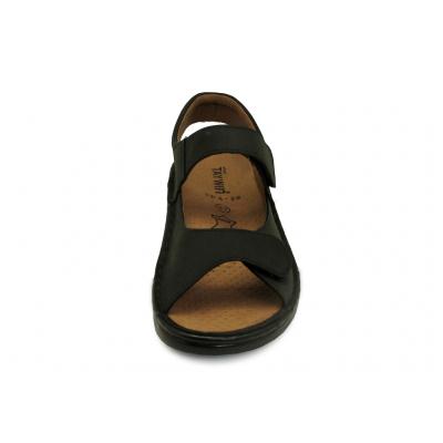 รองเท้าแตะ SKA-29 หนังนูบักออยล์ตาล