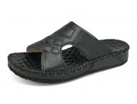 ลด 50% รองเท้าแตะ SKC-04 หนังนิ่มดำ