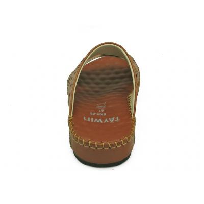 รองเท้าแตะ SKC-05 หนังปั๊มลายนอกกระจอกเทศแทน