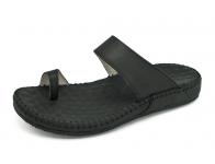 ลด 50% รองเท้าแตะ SKC-07 หนังนิ่มดำ