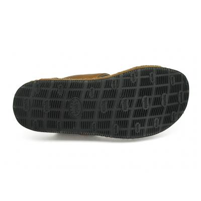 รองเท้าแตะ SKC-07 หนังยับลายแทน