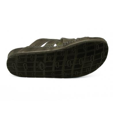 รองเท้าแตะ SKC-12 หนังยับลายเทา