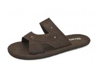 ลด 50% รองเท้าแตะ SKT-65 หนังชามัวตาลแก่