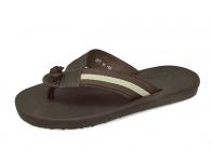 ลด 50% รองเท้าแตะ SKT-66 หนังชามัวร์ตาลแก่