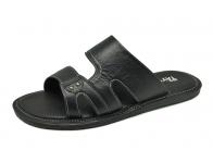 ลด 50% รองเท้าแตะ SKT-69 หนังแพะปั่นนิ่มดำ