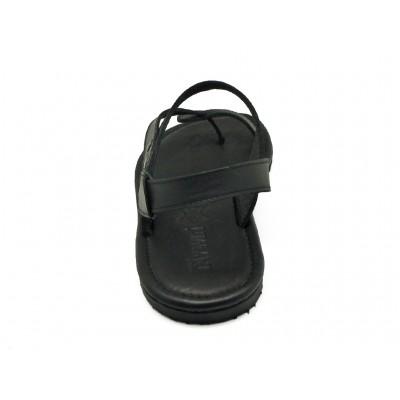 รองเท้าแตะ SKT-70 หนังนูบักออยล์ดำ