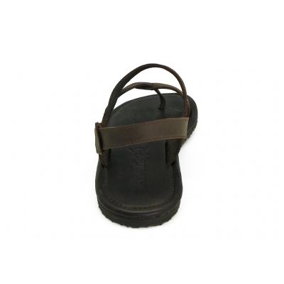 รองเท้าแตะ SKT-70 หนังนูบักออยล์ตาล
