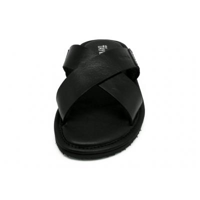 รองเท้าแตะ SKT-71 หนังCCOดำ
