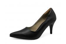 Women Courts High Heel SM-14 Black  Nappa