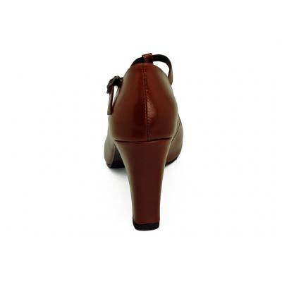 รองเท้าคัทชูส้นสูง SM-89 หนังCCOแทน