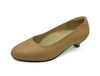 รองเท้าคัทชู SV-02 หนังชามัวร์เนื้อ