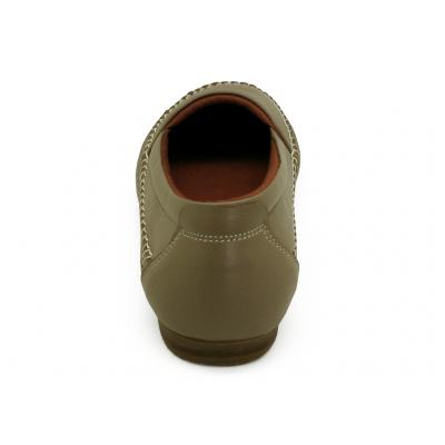 รองเท้าคัทชูส้นเตี้ย SY-06 หนังนิ่มบัวโรย